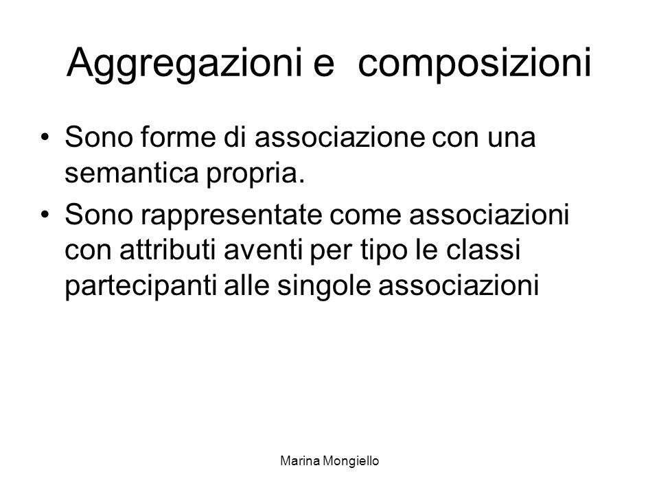 Aggregazioni e composizioni