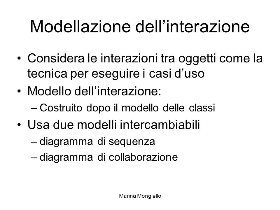 Modellazione dell'interazione