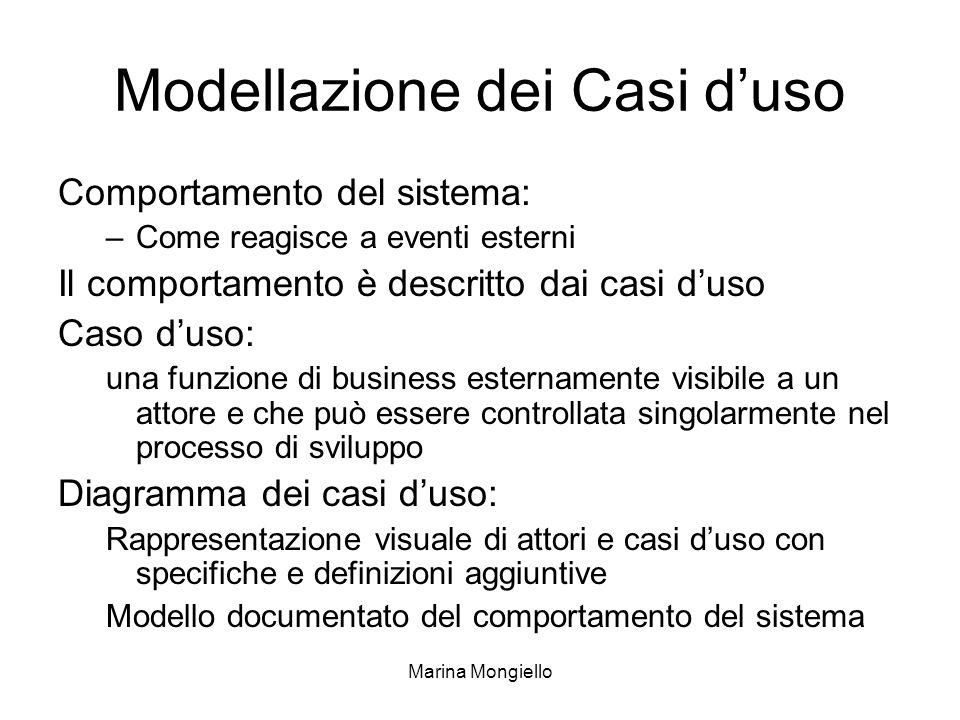 Modellazione dei Casi d'uso