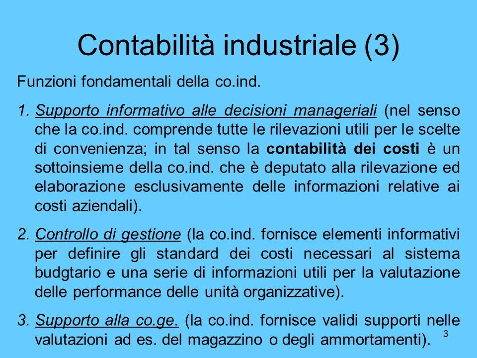 Contabilità industriale (3)