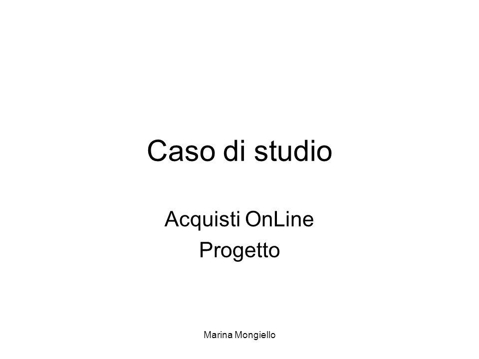 Acquisti OnLine Progetto