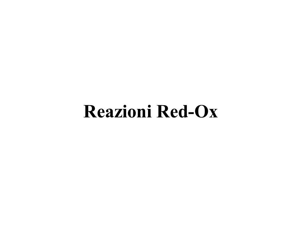 Reazioni Red-Ox