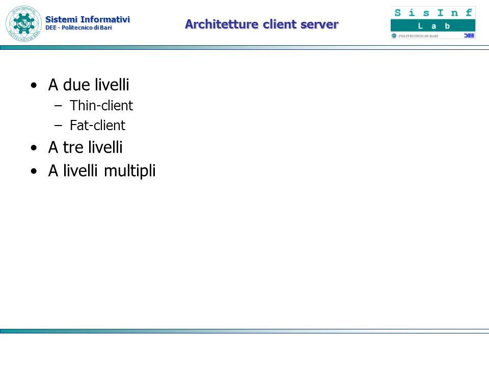 Architetture client server
