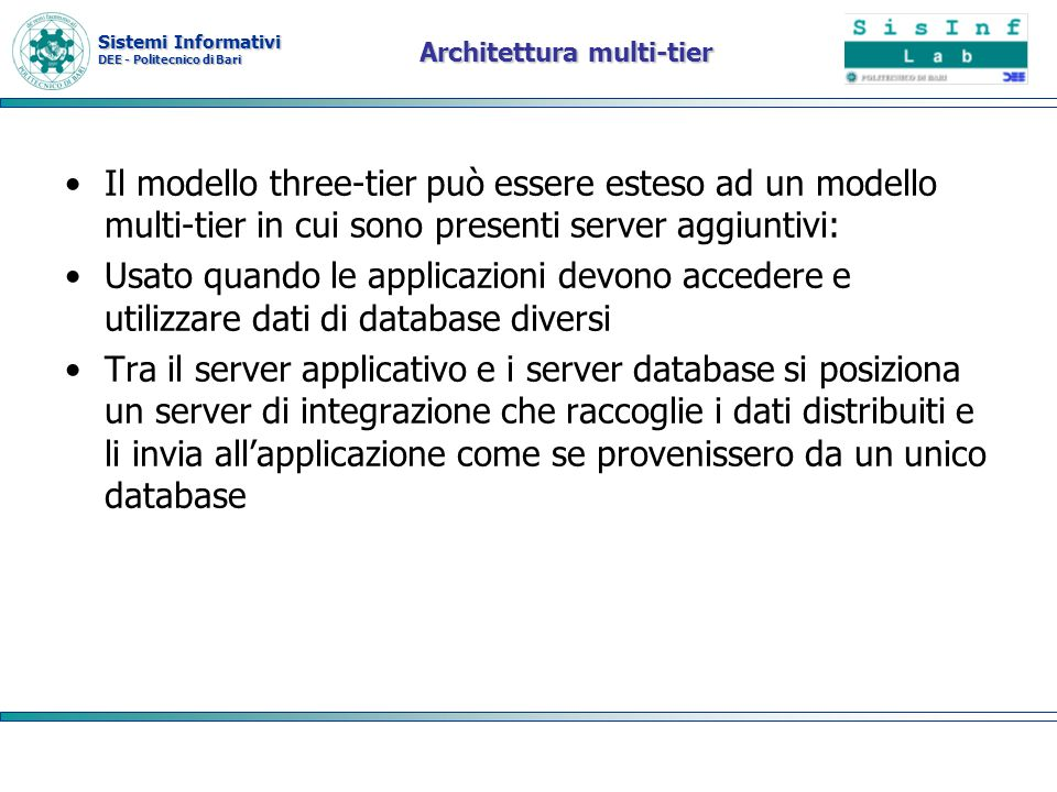 Architettura multi-tier