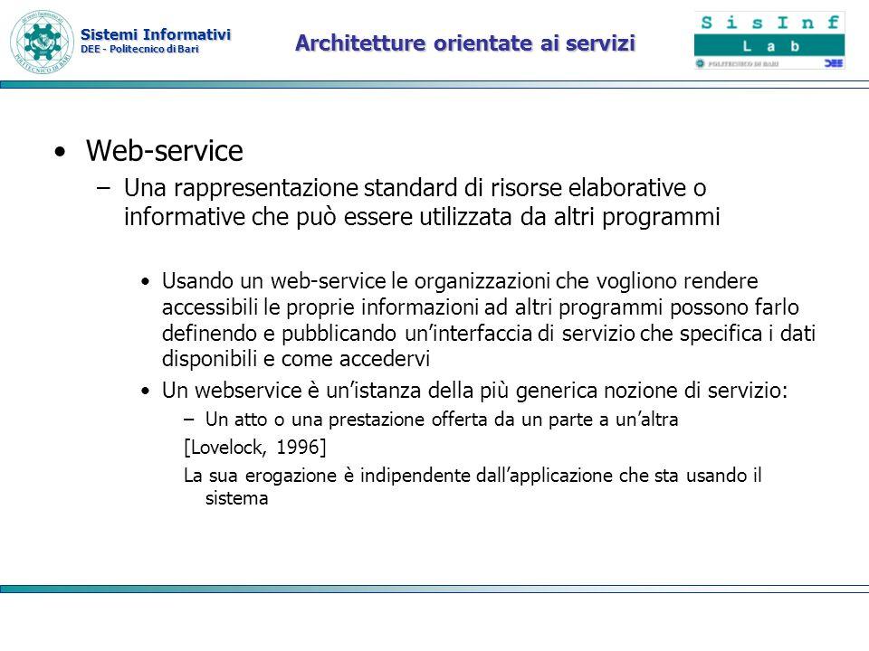 Architetture orientate ai servizi