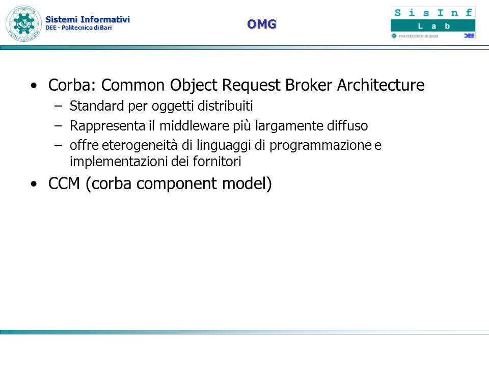 Corba: Common Object Request Broker Architecture