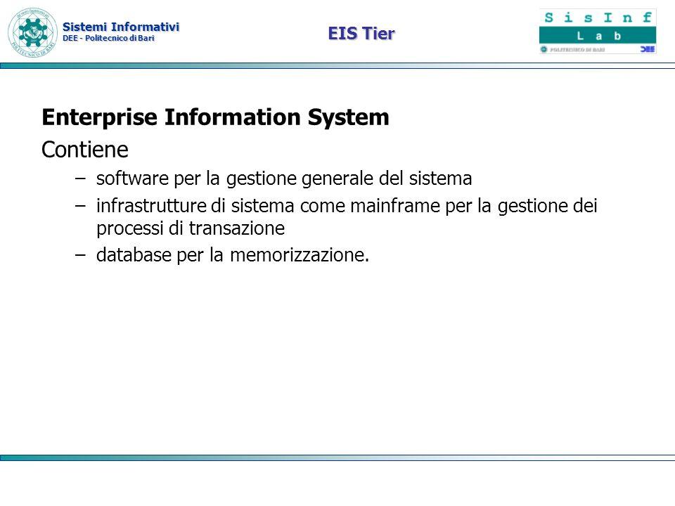 Enterprise Information System Contiene