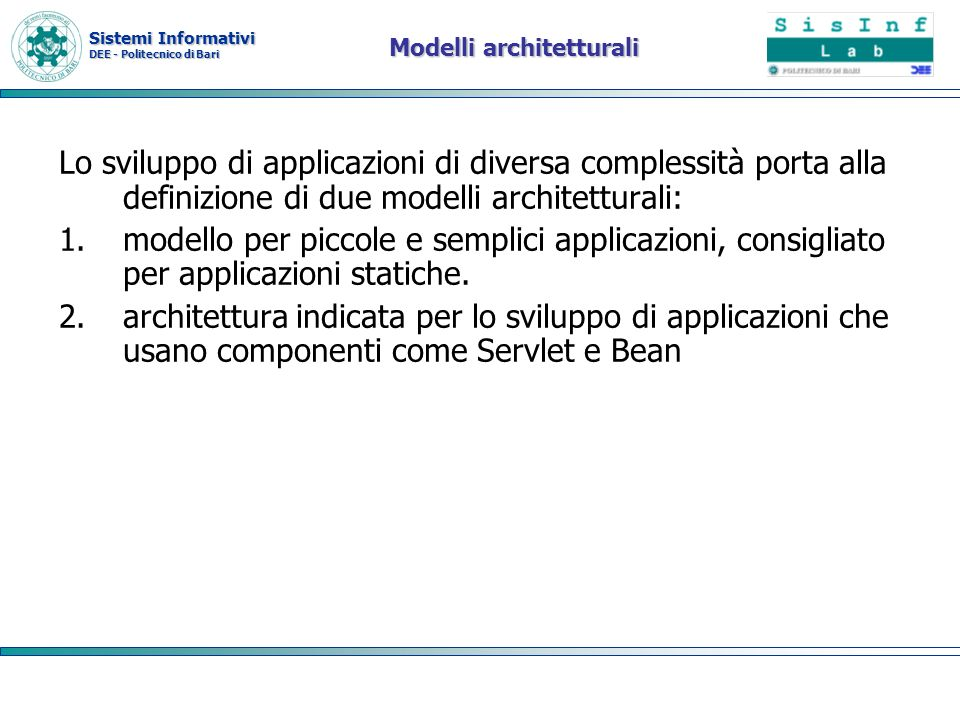 Modelli architetturali