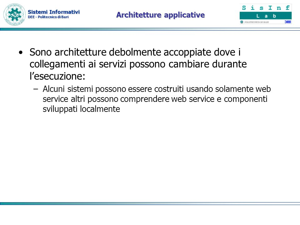 Architetture applicative
