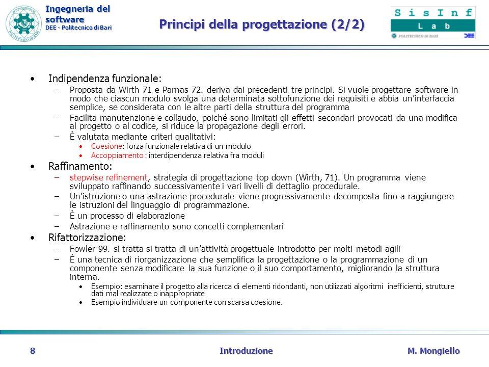 Principi della progettazione (2/2)