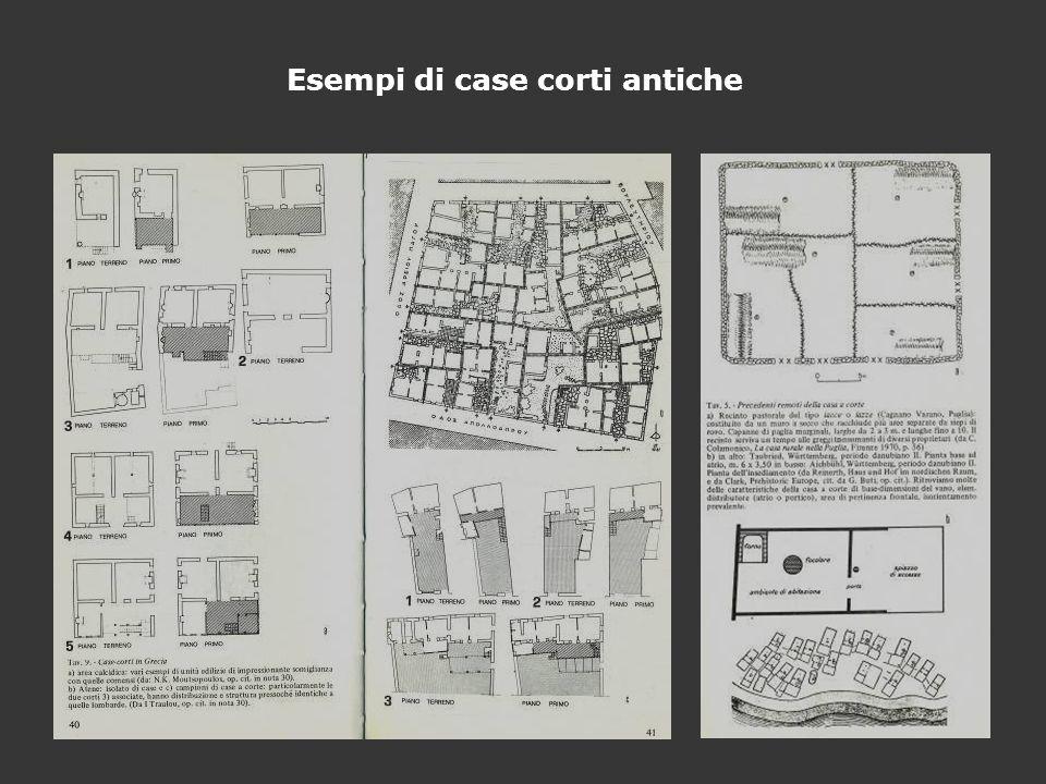 Esempi di case corti antiche