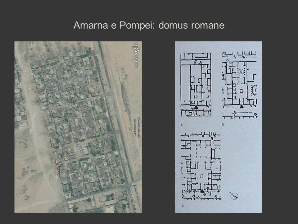 Amarna e Pompei: domus romane