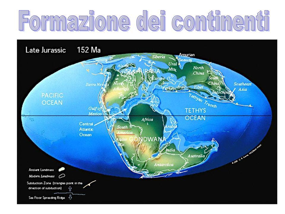 Formazione dei continenti