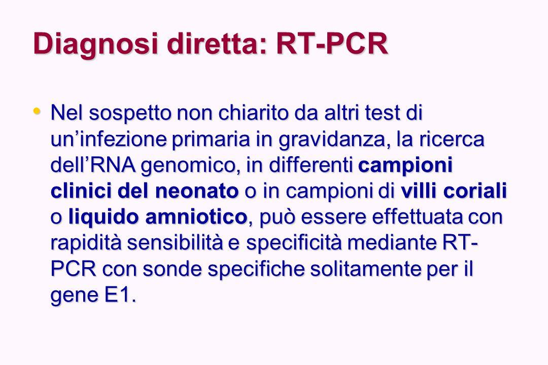 Diagnosi diretta: RT-PCR