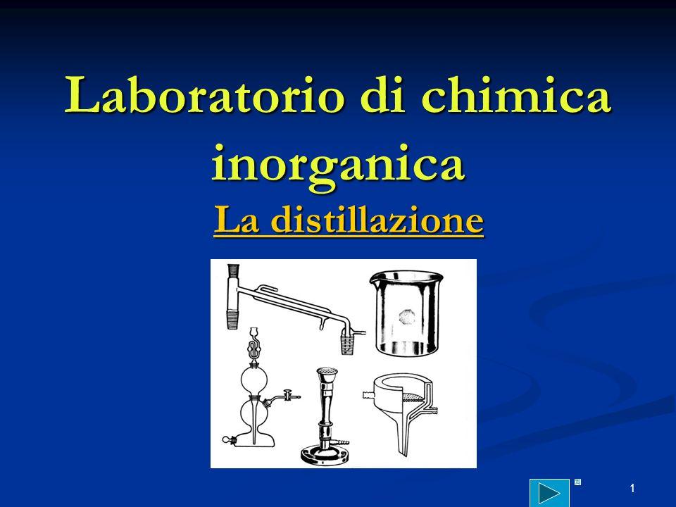 Laboratorio di chimica inorganica