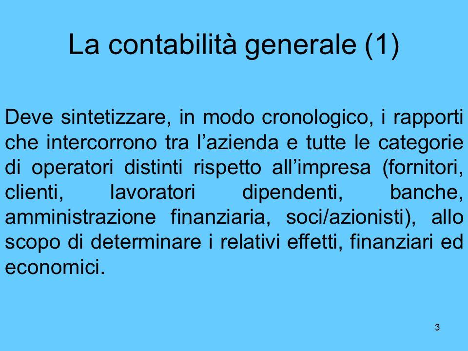 La contabilità generale (1)