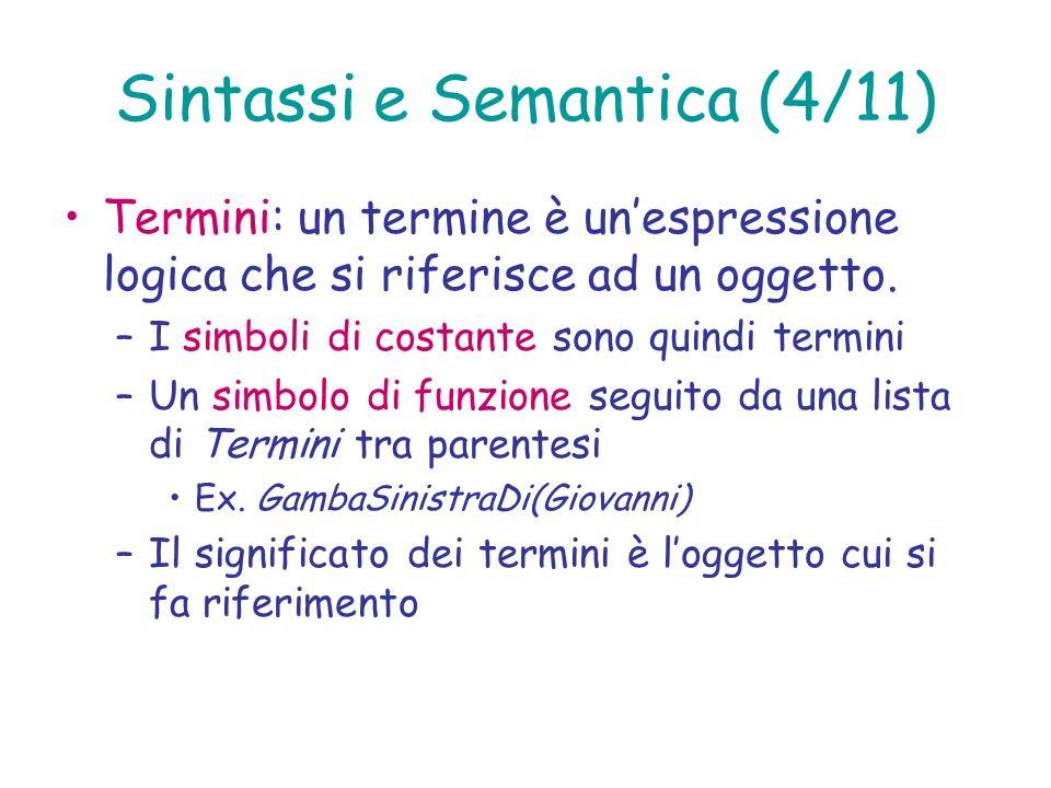 Sintassi e Semantica (4/11)