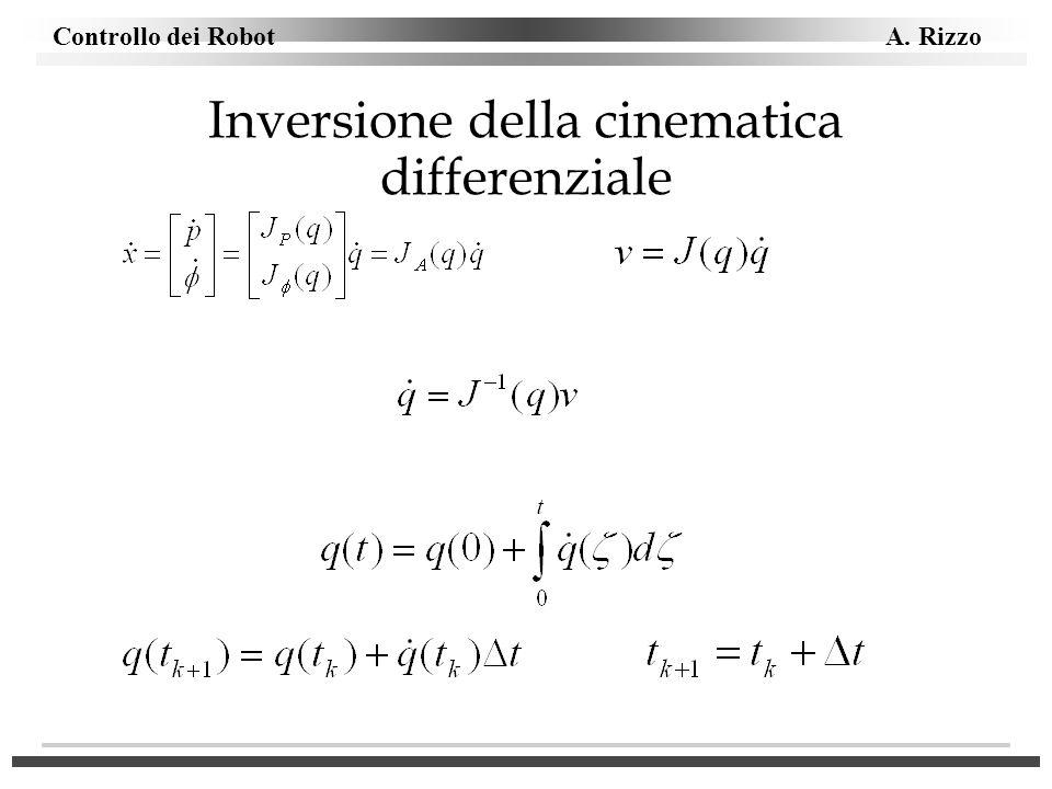 Inversione della cinematica differenziale