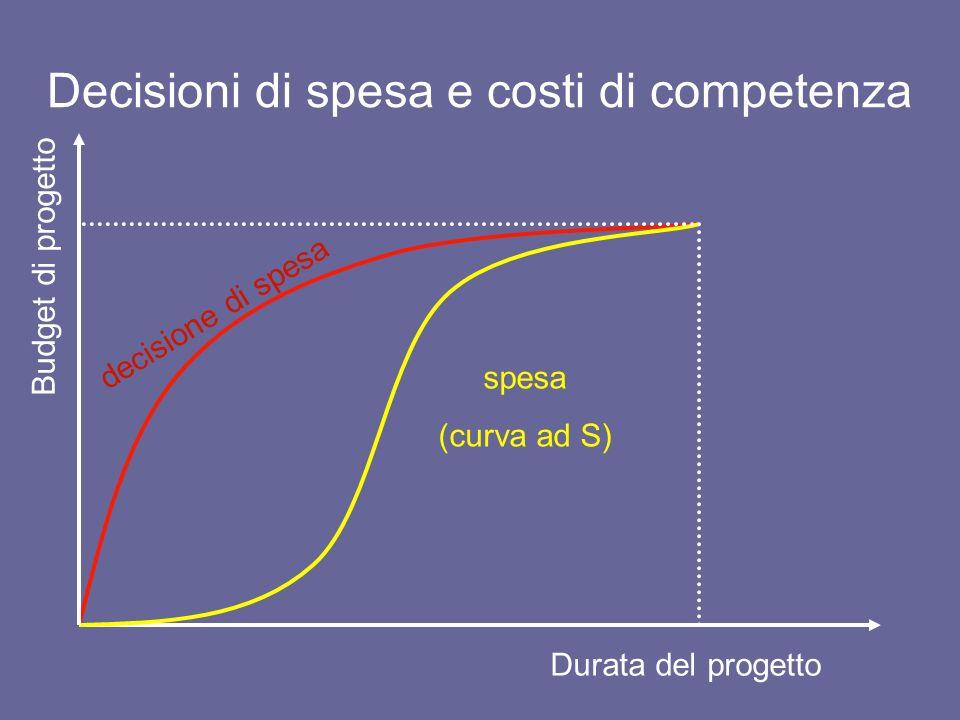 Decisioni di spesa e costi di competenza