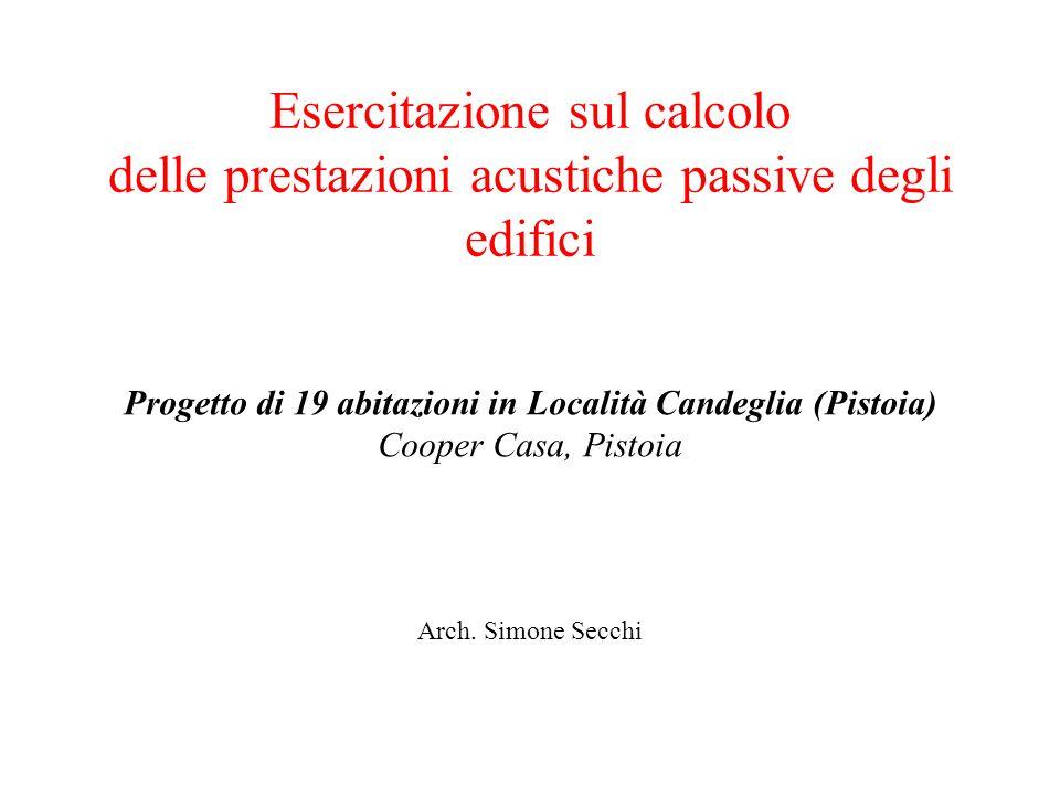 Progetto di 19 abitazioni in Località Candeglia (Pistoia)