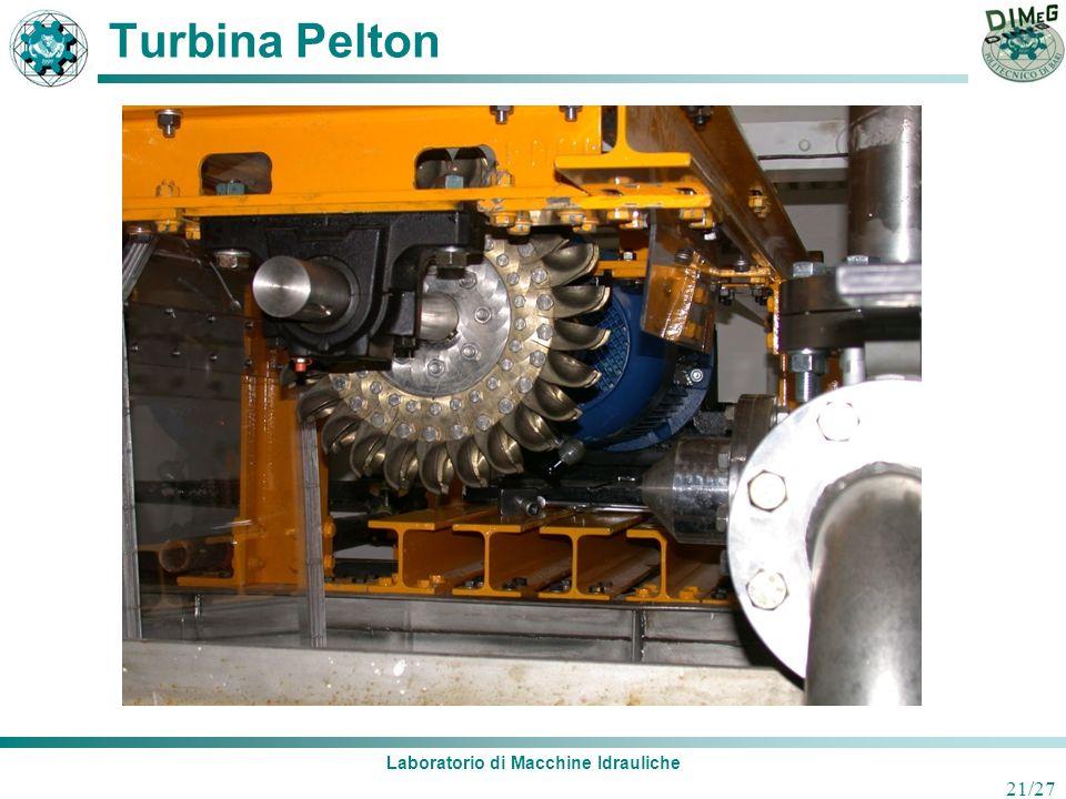 Laboratorio di Macchine Idrauliche