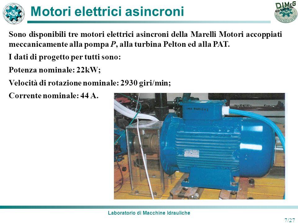 Motori elettrici asincroni