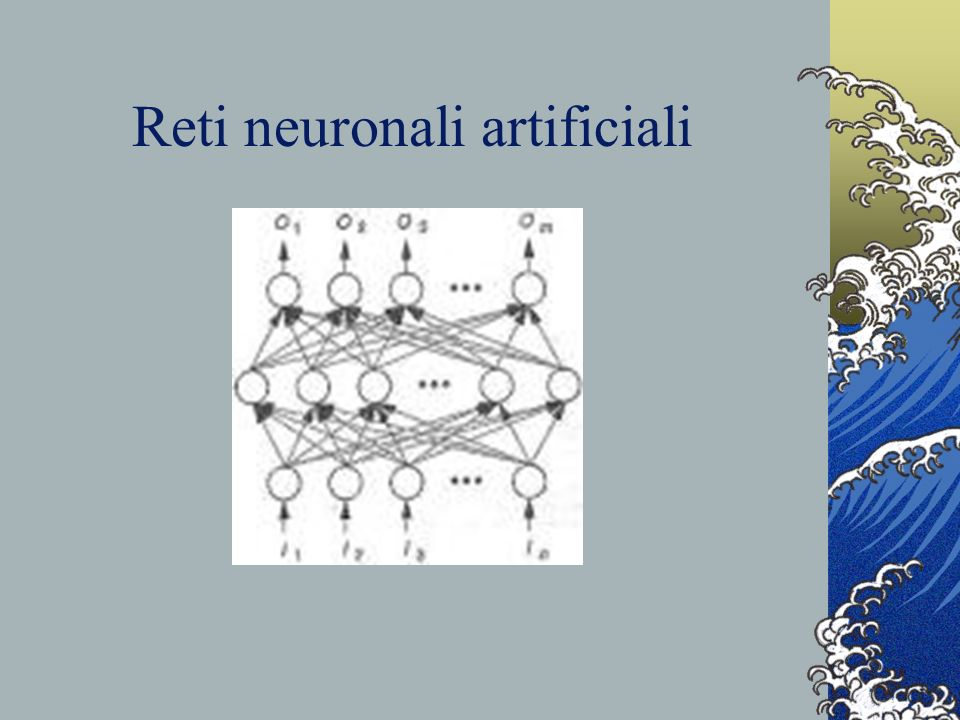 Reti neuronali artificiali