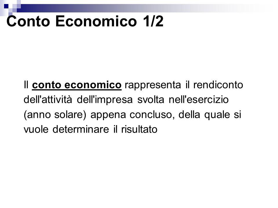 Conto Economico 1/2