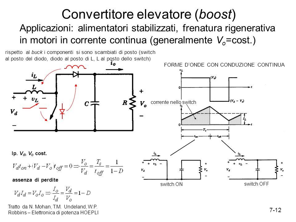 Convertitore elevatore (boost)