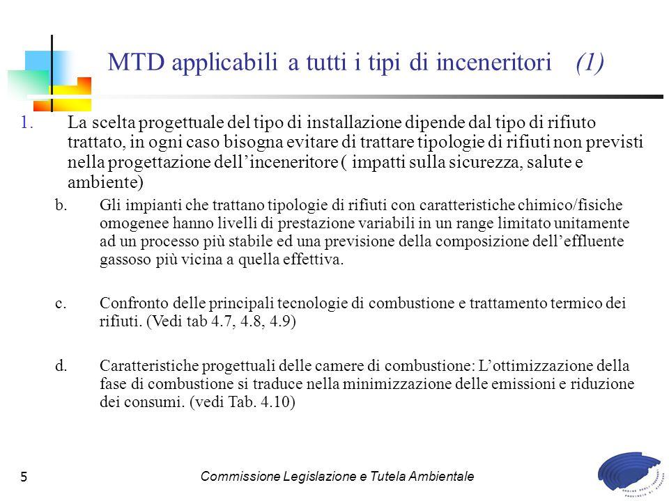 MTD applicabili a tutti i tipi di inceneritori (1)