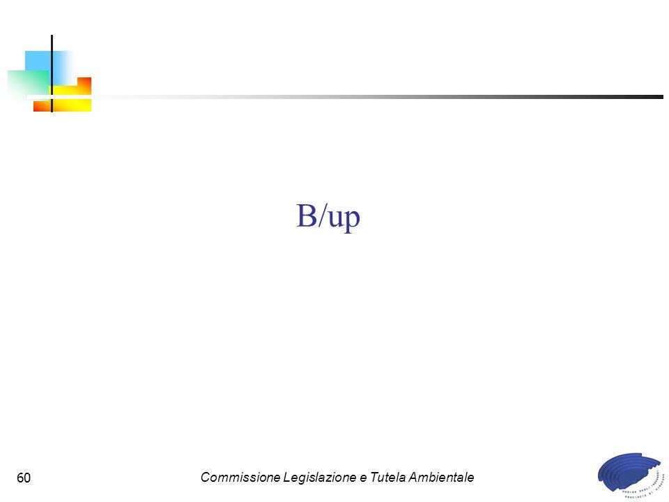 Commissione Legislazione e Tutela Ambientale