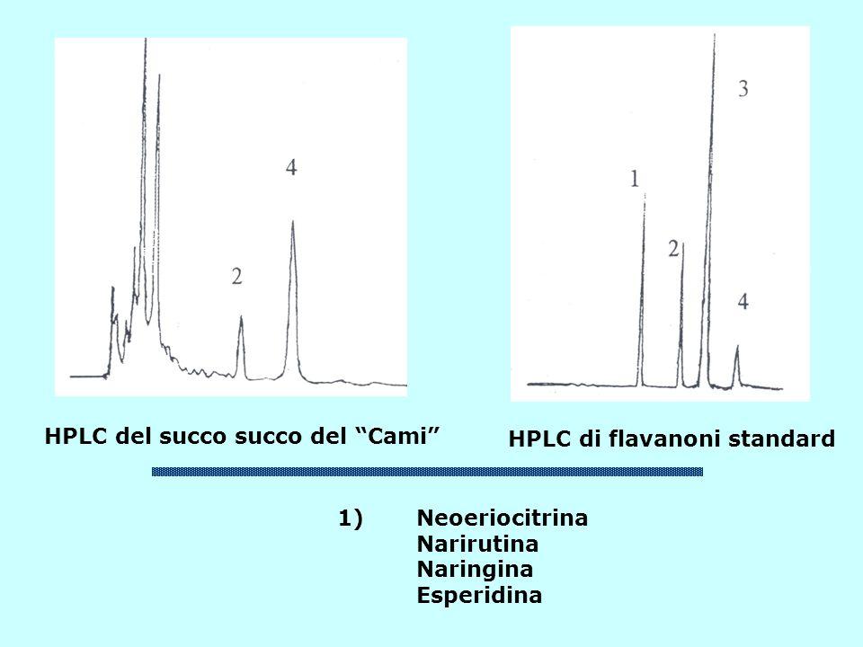 HPLC del succo succo del Cami