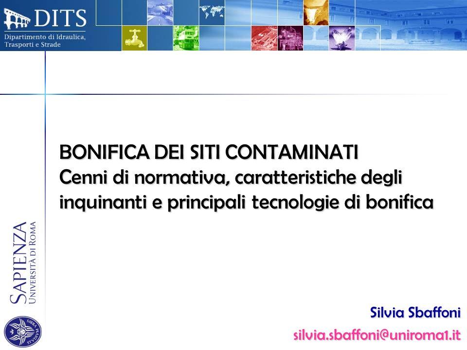 Silvia Sbaffoni silvia.sbaffoni@uniroma1.it