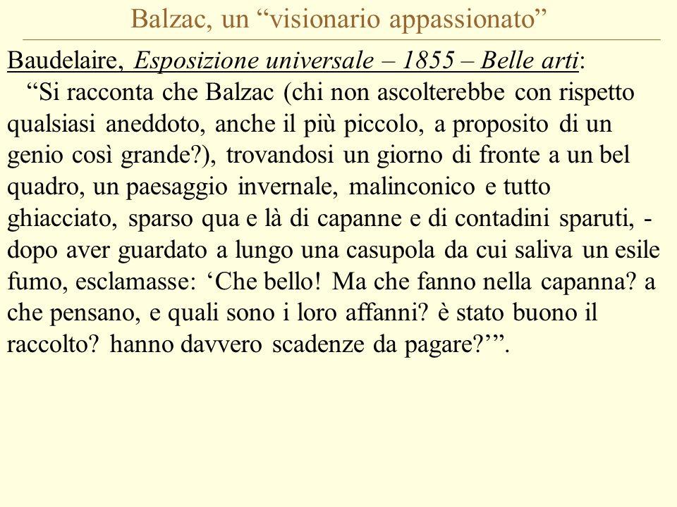 Balzac, un visionario appassionato