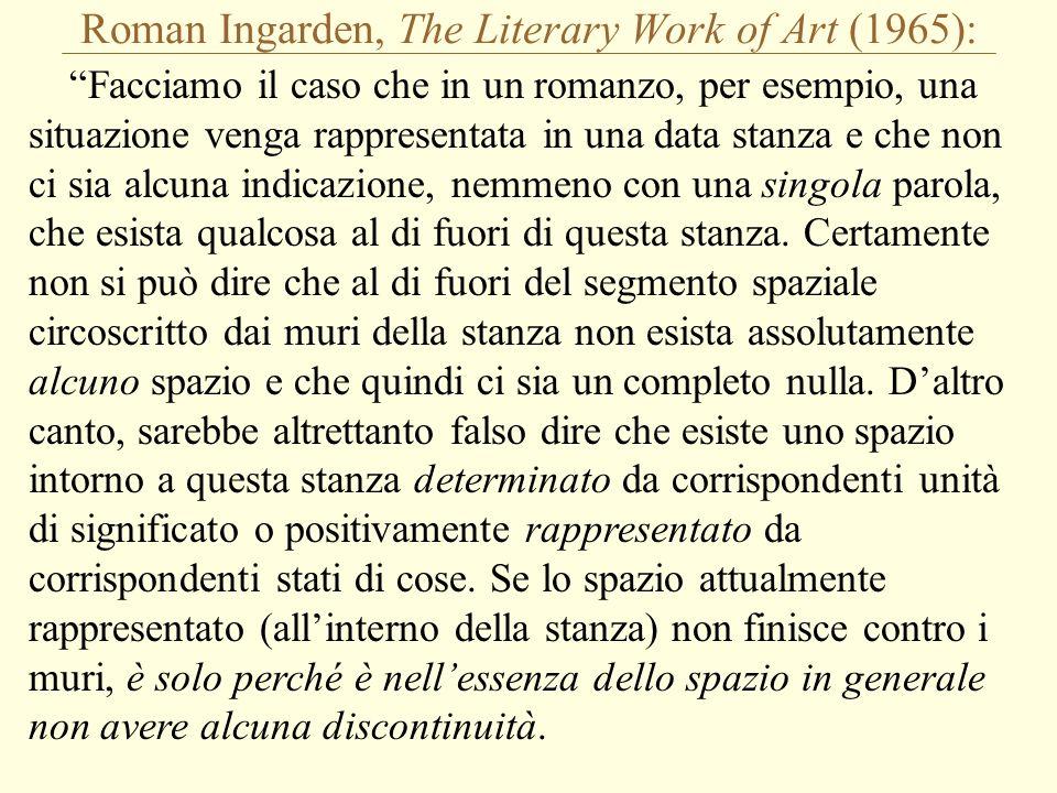 Roman Ingarden, The Literary Work of Art (1965):