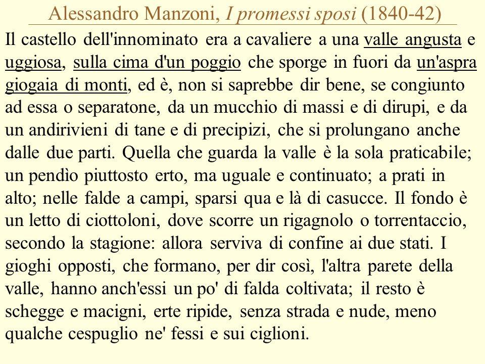 Alessandro Manzoni, I promessi sposi (1840-42)