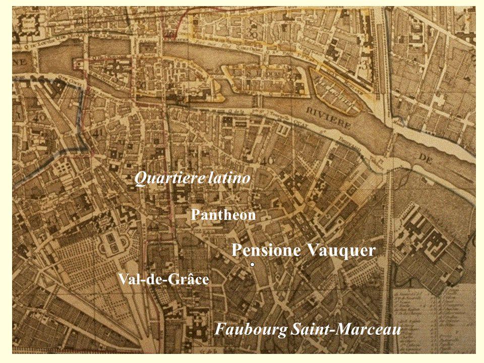 Pensione Vauquer Quartiere latino Faubourg Saint-Marceau Pantheon