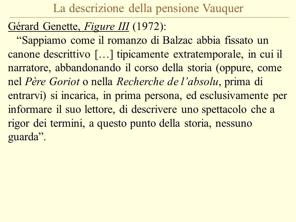 La descrizione della pensione Vauquer