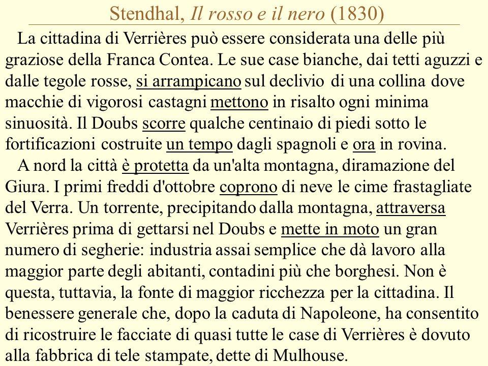 Stendhal, Il rosso e il nero (1830)