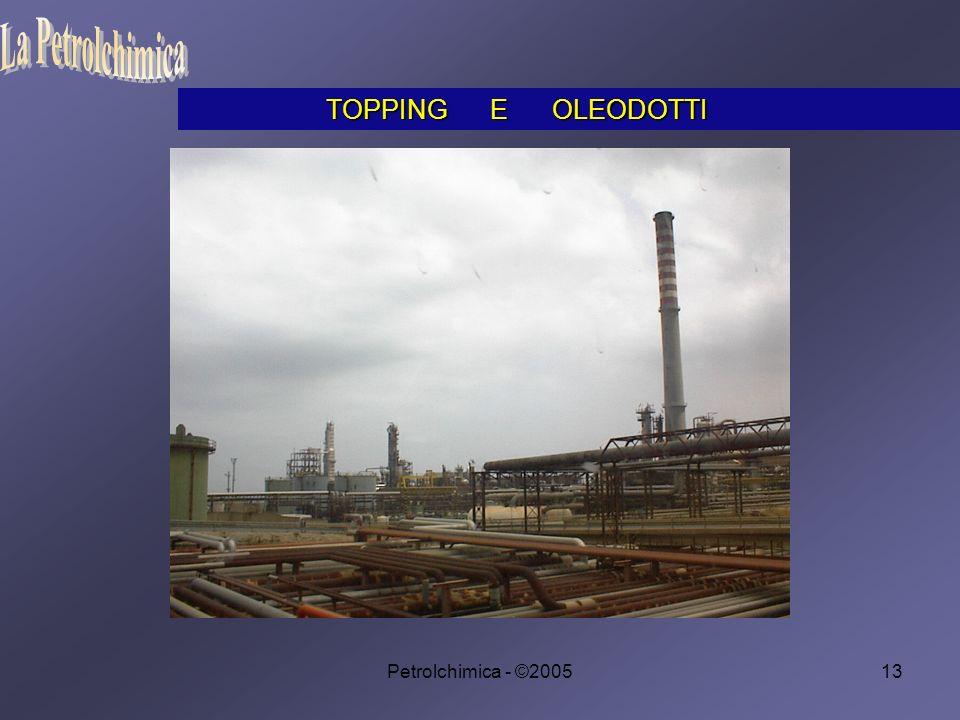 La Petrolchimica TOPPING E OLEODOTTI Petrolchimica - ©2005