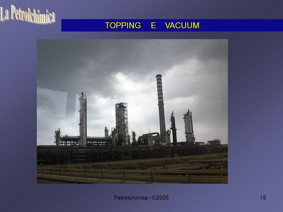 La Petrolchimica TOPPING E VACUUM Petrolchimica - ©2005