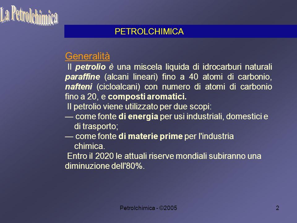 La Petrolchimica Generalità PETROLCHIMICA