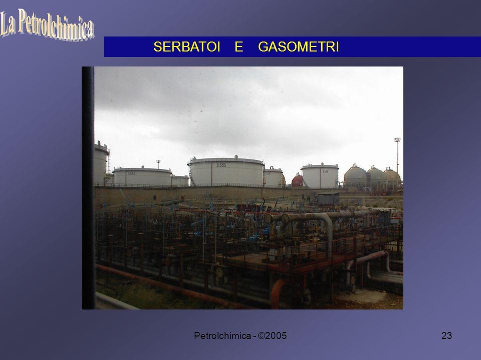 La Petrolchimica SERBATOI E GASOMETRI Petrolchimica - ©2005