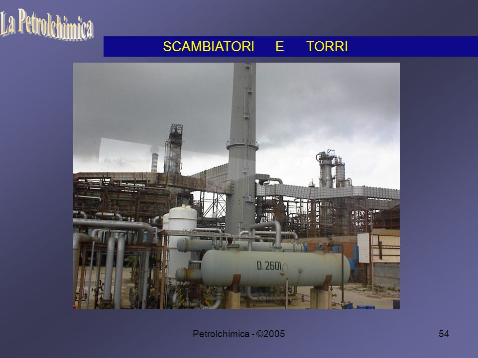 La Petrolchimica SCAMBIATORI E TORRI Petrolchimica - ©2005