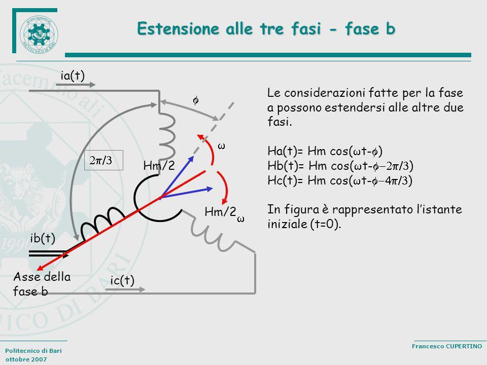 Estensione alle tre fasi - fase b