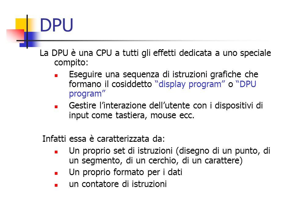 DPU La DPU è una CPU a tutti gli effetti dedicata a uno speciale compito: