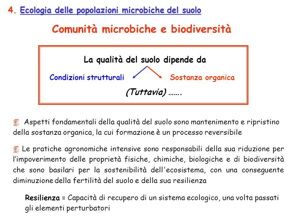 Comunità microbiche e biodiversità