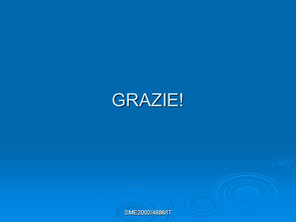 GRAZIE! SME2002/4886/IT