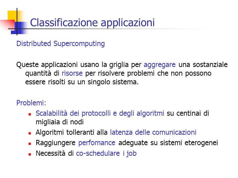 Classificazione applicazioni