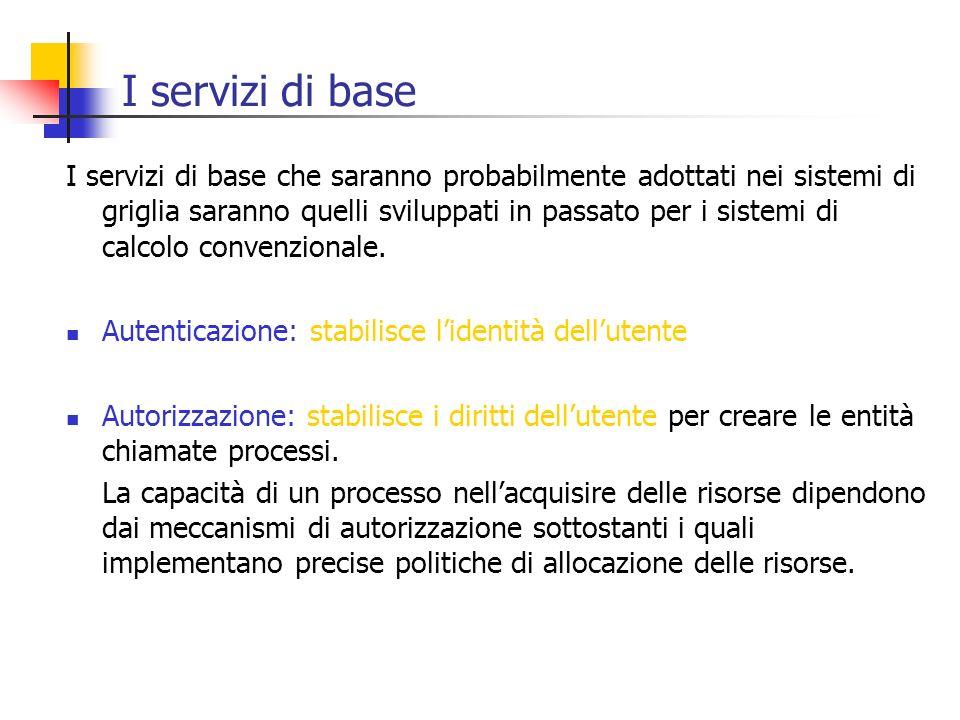 I servizi di base